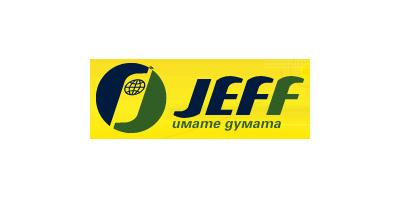 Logo Jeff – каталози, брошури, промоции и промо оферти