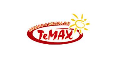 Logo Temax - каталози, брошури, промоции и промо оферти