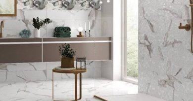 Бели плочки за баня за ново жилище