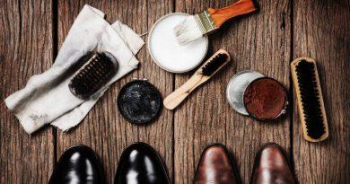 Поддържане на кожени обувки